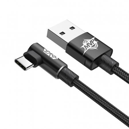 Cablu date/incarcare Baseus Elbow type C 2m 1.5 A [2]