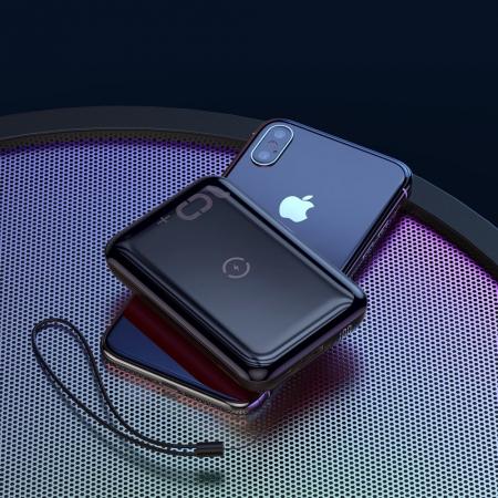 'Baterie externa Baseus Mini S Bracket incarcare QI wireless 10000MAH' [1]