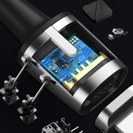 CABLU BASEUS ZINC MAGNETIC LIGHTNING 1.5A 2M CALXC-B016