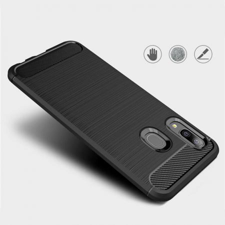 Husa TPU carbon Samsung Galaxy A20e1