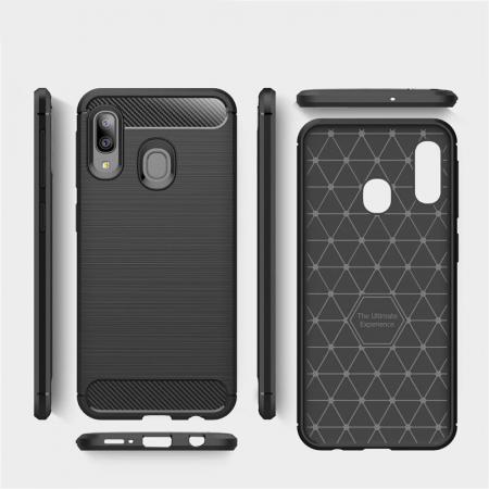 Husa TPU carbon Samsung Galaxy A20e3