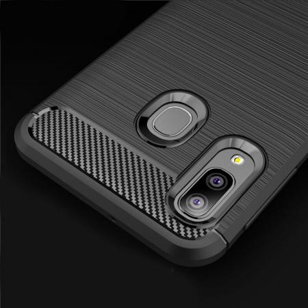 Husa TPU carbon Samsung Galaxy A20e4
