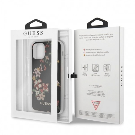 HUSA GUESS FLOWER COLLECTION IPHONE 11 PRO BLACK6