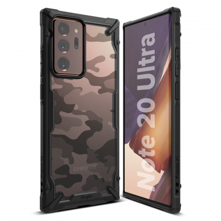 Husa Ringke Fusion X Samsung Galaxy Note20 Ultra camo1