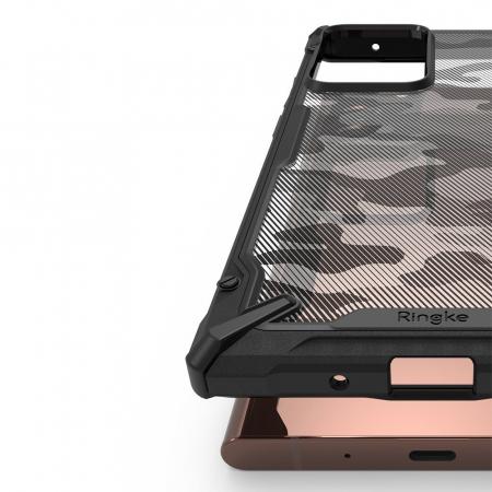 Husa Ringke Fusion X Samsung Galaxy Note20 Ultra camo5