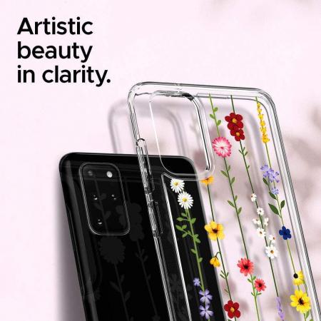 'Husa Spigen Ciel Samsung Galaxy S20 Plus Flower Garden' [1]