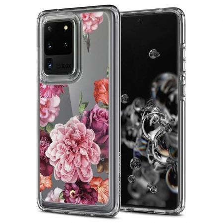 Husa Spigen Ciel Samsung Galaxy S20 Ultra Rose Floral [0]