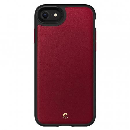 Carcasa Spigen Ciel Leather Brick iPhone 7/8/SE 2020 Red4