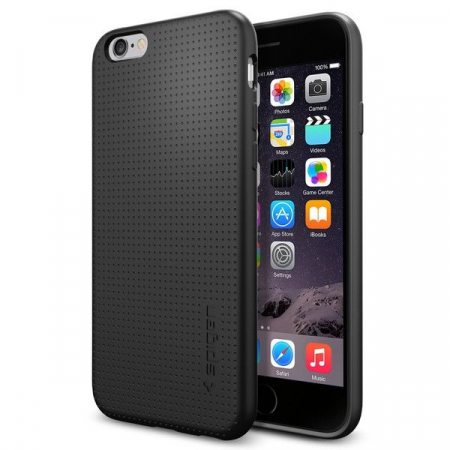 HUSA SPIGEN LIQUID AIR IPHONE 6/6S BLACK0