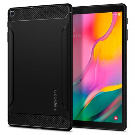 Husa Spigen Rugged Armor Galaxy Tab A 10.1 2019 T510/T515 Black0