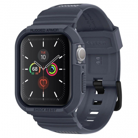CUREA SPIGEN RUGGED ARMOR PRO APPLE WATCH 44MM CHARCOAL GREY0