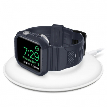 CUREA SPIGEN RUGGED ARMOR PRO APPLE WATCH 44MM CHARCOAL GREY1