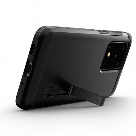 Carcasa Spigen Tough Armor Samsung Galaxy S20 Ultra Black5