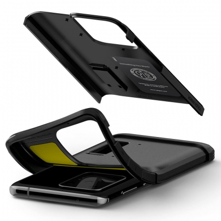 Carcasa Spigen Tough Armor Samsung Galaxy S20 Ultra Black6
