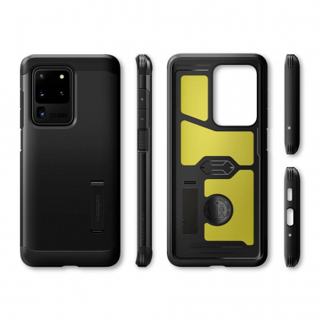 Carcasa Spigen Tough Armor Samsung Galaxy S20 Ultra Black7