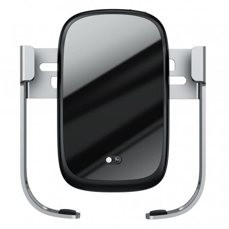 Suport auto Baseus Rock Solid wireless WXHW01-B0S gri [2]