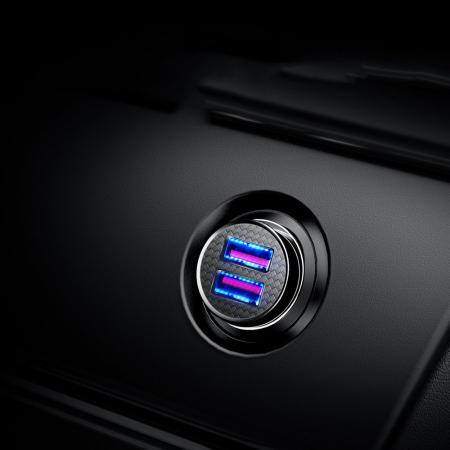 Incarcator auto Baseus Circular 2XUSB quick charge 3.0 SPC AFC 30W CCALL-YD01 [7]
