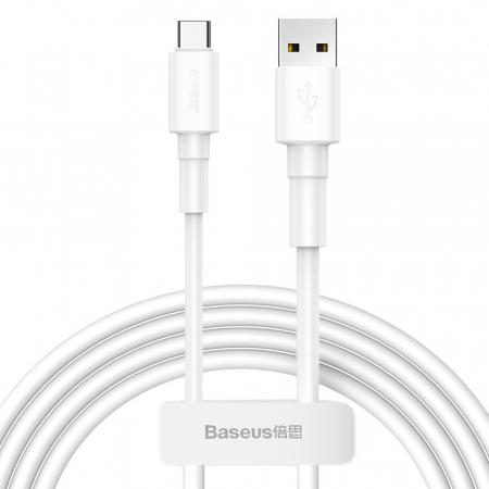 Cablu incarcare/date Baseus mini USB - type C 1M 3A CATSW-02 alb [0]