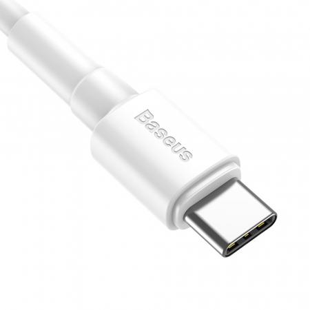 Cablu incarcare/date Baseus mini USB - type C 1M 3A CATSW-02 alb [1]