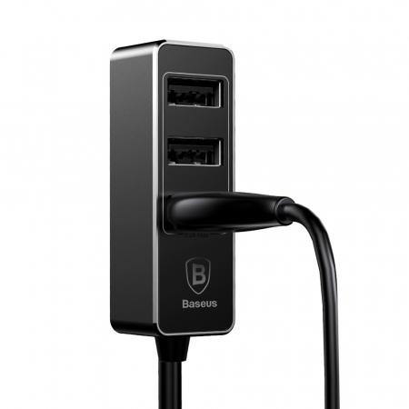 Incarcator auto Baseus Enjoy Together +4 X USB 5.5A  CCTON-01 [6]