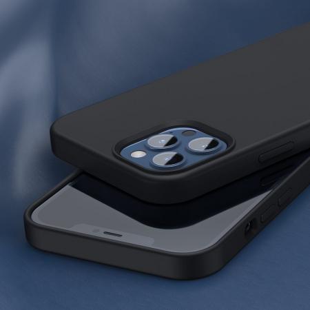 Husa Baseus Liquid Silica Gel Protective iPhone 12 Pro Max [7]