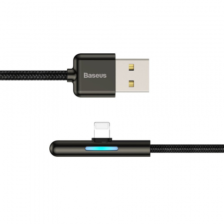 Cablu de date si incarcare Lightning  Baseus Mobile Game  1.5A, 2M CAL7C-B012
