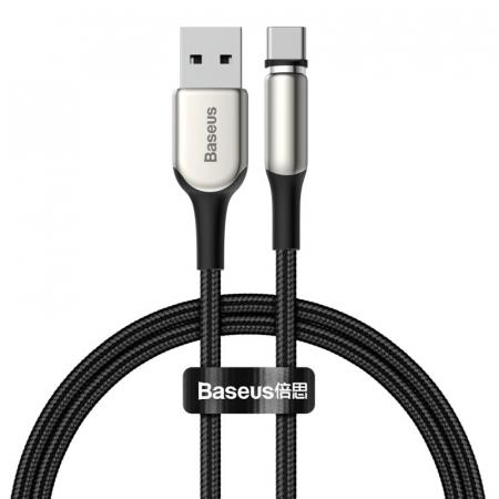 Cablu Baseus Zinc Magnetic USB - type C 2A 1m CATXC-H010
