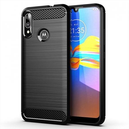 Husa TPU crbon Motorola Moto E6 Plus [0]