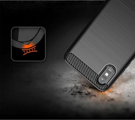HUSA Carbon Case Flexible Cover TPU  Xiaomi Redmi 9A2