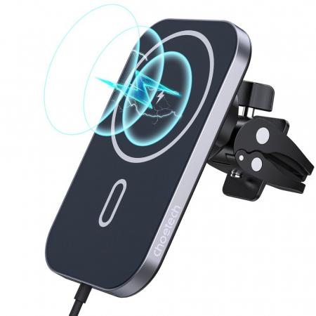 Incarcator auto Choetech Magnetic 15W MagSafe T200-F+ priza USB - USB Type C [1]