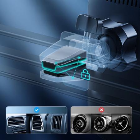 Incarcator auto Choetech Magnetic 15W MagSafe T200-F+ priza USB - USB Type C [6]