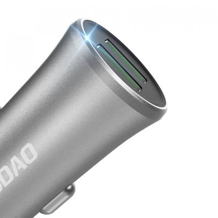 Incarcator auto universal Dudao 3,4A  2x USB [1]