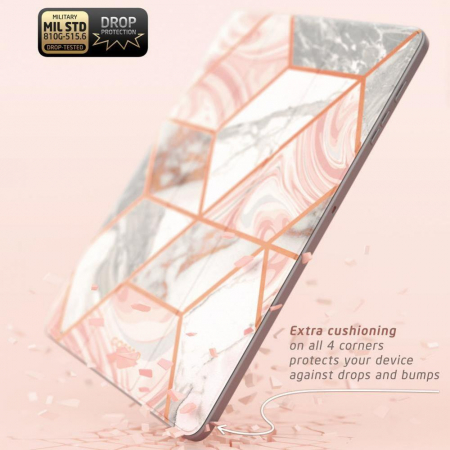 Husa Supcase Cosmo Samsung Galaxy Tab S7 FE Marble 12.4 inch [4]