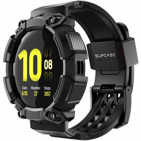Husa si curea Supcase Unicorn Beetle Pro Samsung Galaxy Watch Active 2 44mm [0]