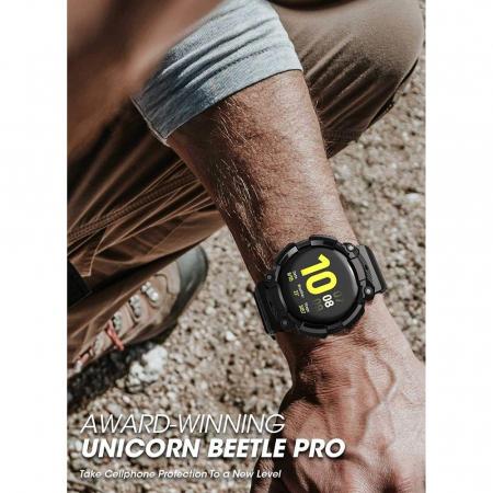 Husa si curea Supcase Unicorn Beetle Pro Samsung Galaxy Watch Active 2 44mm [5]