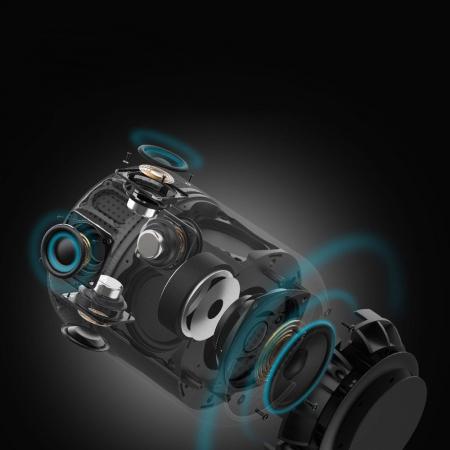 Boxa portabila Tronsmart T6 Max Bluetooth 5.0, sunet 360, baterie 12.000 mAh [2]