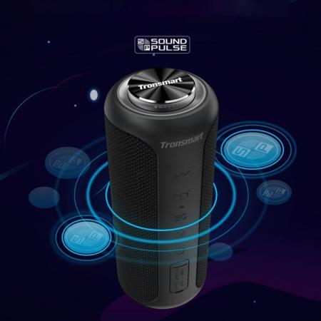 Boxa portabila Tronsmart T6 Plus Upgraded, Bluetooth 5.0, IPX 6, baterie 6600 mAh, functie de baterie externa, 40W [5]