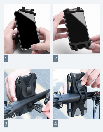 Suport telefon Ugreen bicicleta [9]