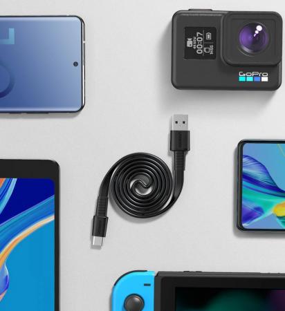 Cablu date/incarcare Ugreen USB type C QC 3.0 3A 1m [3]
