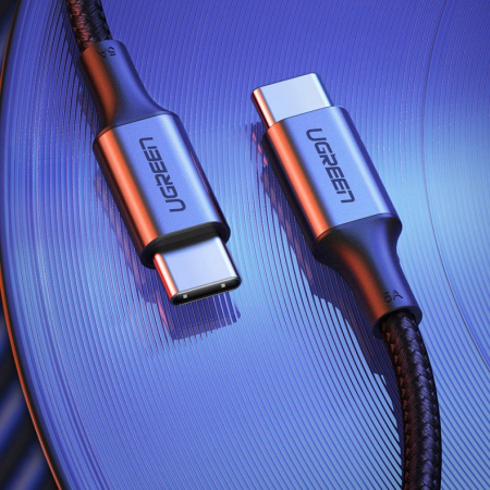 Cablu Ugreen type C - type C gri [7]