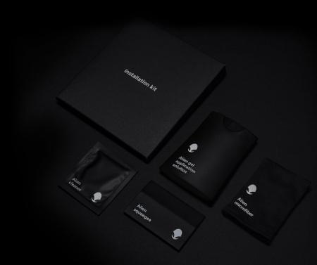 Folie Alien Surface Samsung Galaxy S9 Plus fata case compatible1