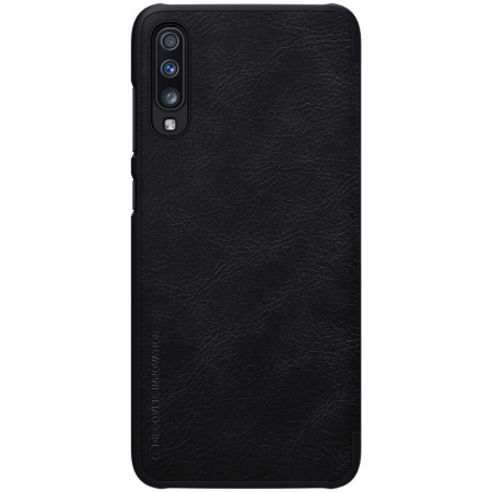 HUSA NILLKIN QIN LEATHER SAMSUNG GALAXY A70 BLACK1