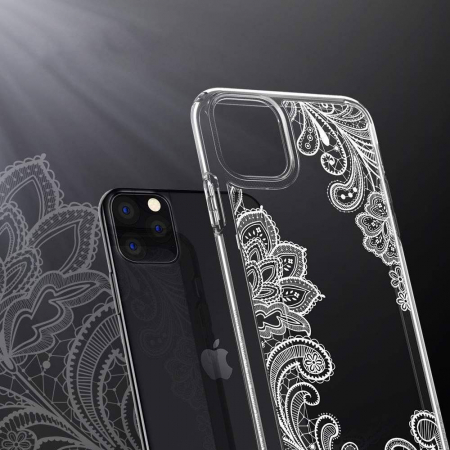 Husa Spigen Ciel IPhone 11 Pro Max White Mandala [4]