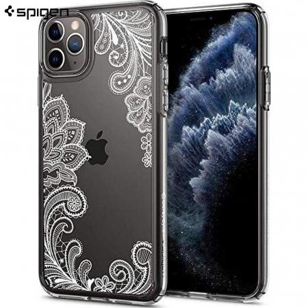 Husa Spigen Ciel IPhone 11 Pro Max White Mandala [0]