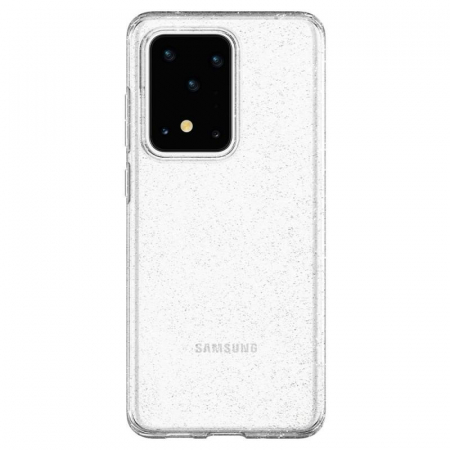 Husa Spigen Liquid Crystal Glitter Samsung Galaxy S20 Ultra0