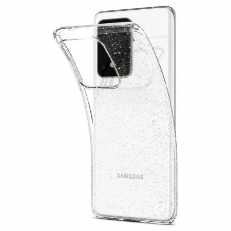Husa Spigen Liquid Crystal Glitter Samsung Galaxy S20 Ultra4