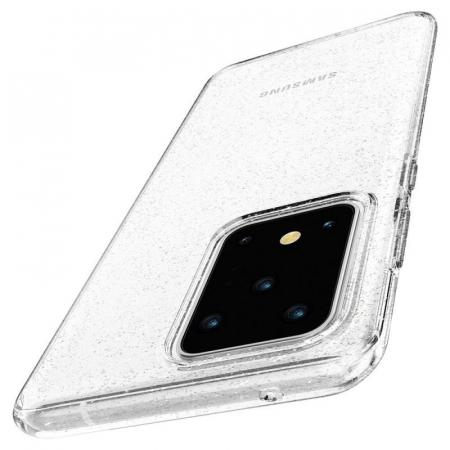 Husa Spigen Liquid Crystal Glitter Samsung Galaxy S20 Ultra3