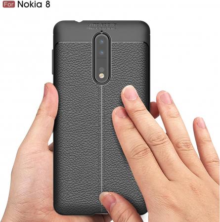 Husa Litchi TPU silicon Nokia 8 [2]