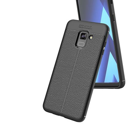 Husa Litchi TPU silicon Samsung Galaxy A530 A8 2018 [1]