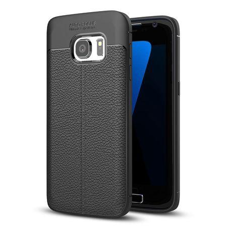 Husa Litchi TPU silicon Samsung Galaxy S7 [0]